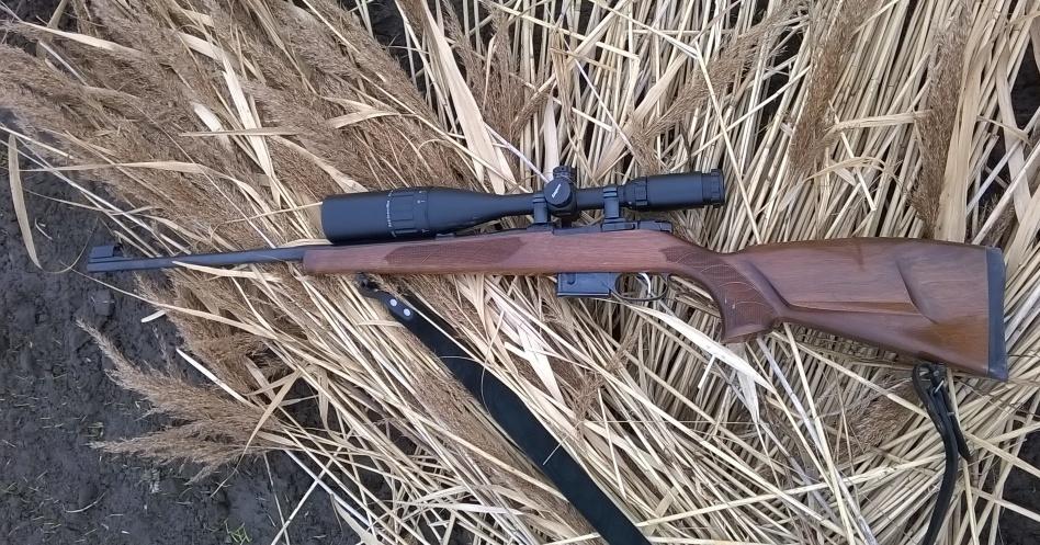 охотничьи винтовки с оптикой
