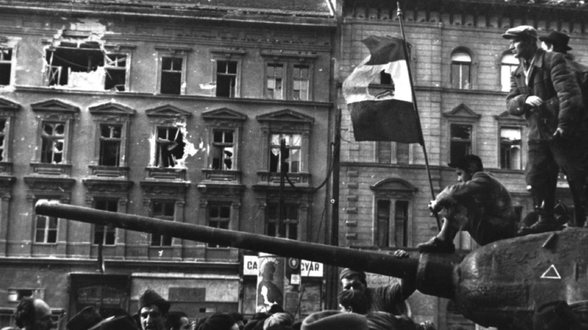 восстание в венгрии