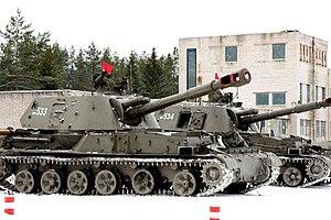 самоходная артиллерийская установка акация