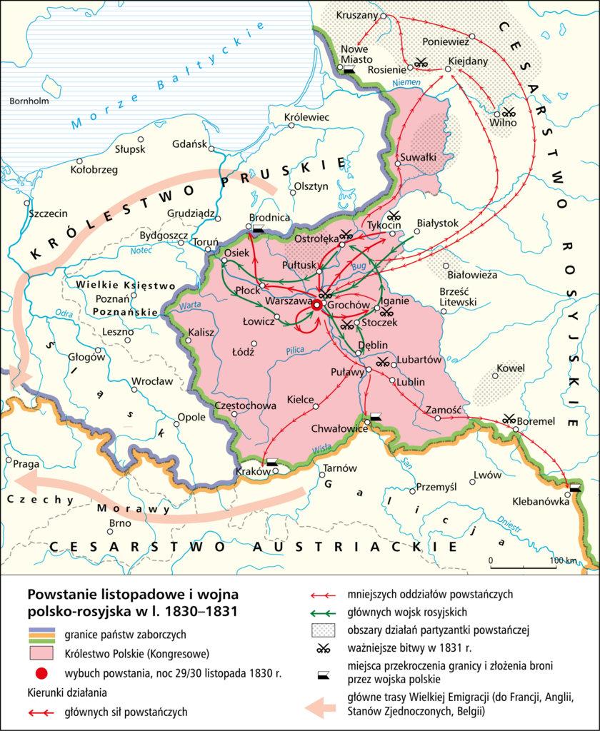 восстание 1830 1831 гг