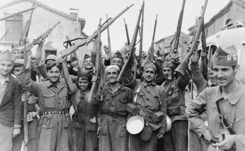 фашистский мятеж в испании