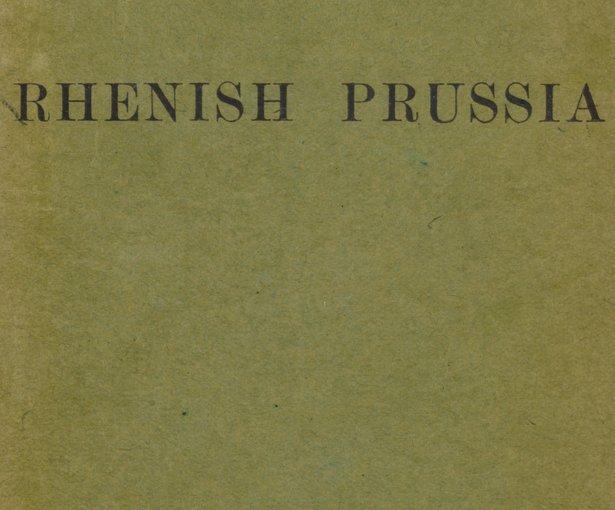пруссия в 19 веке