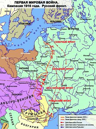 план 1 мировой войны