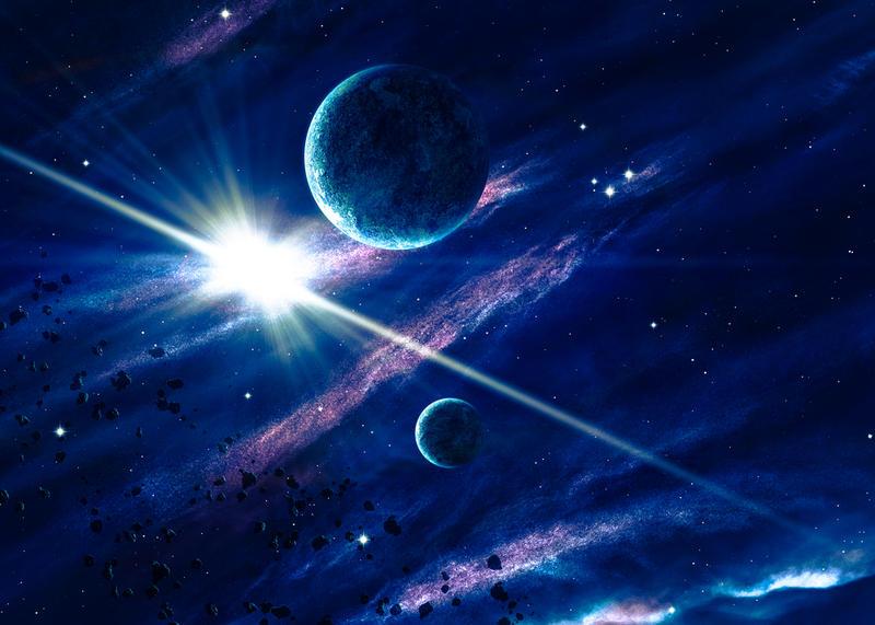на какой высоте космос