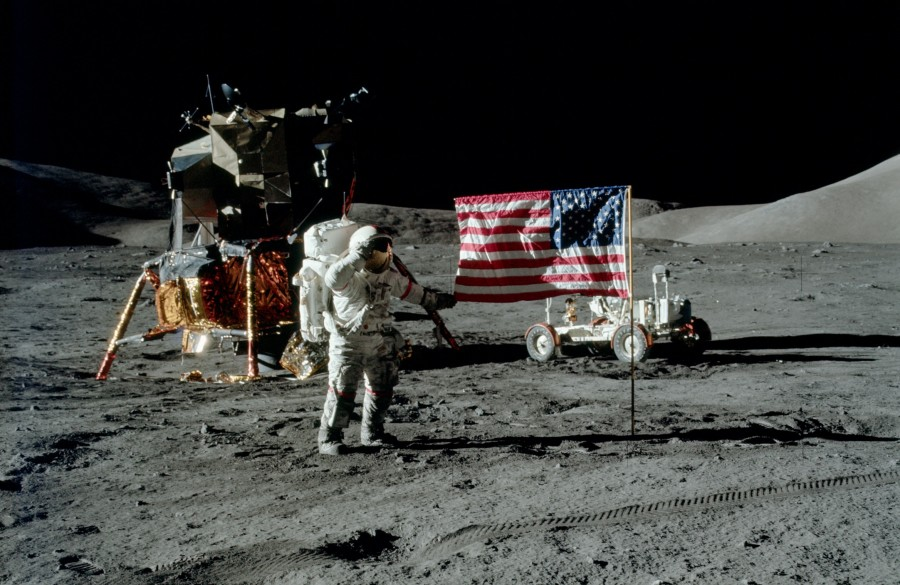 когда американцы высадились на луну