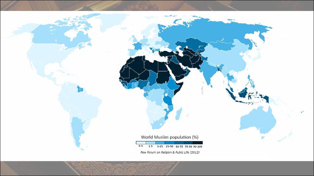 страны где исповедуют ислам