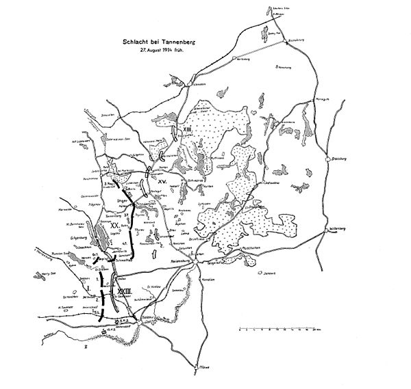 битва при танненберге 1914