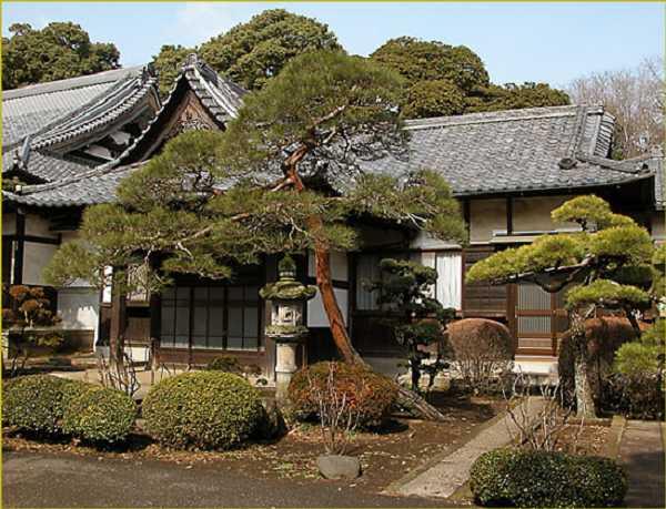 традиционные японские дома