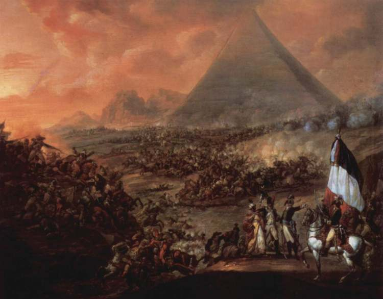 египетский поход наполеона бонапарта кратко