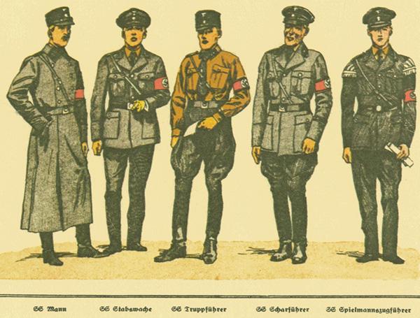 немецкая форма 2 мировой