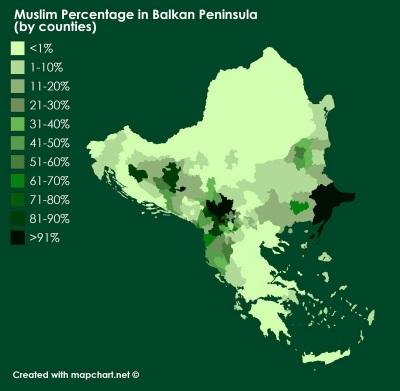 мусульмане где живут