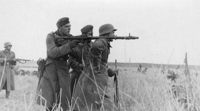 mg 34 пулемет