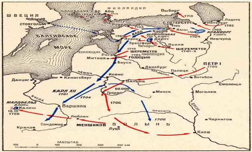 причины вступления россии в северную войну