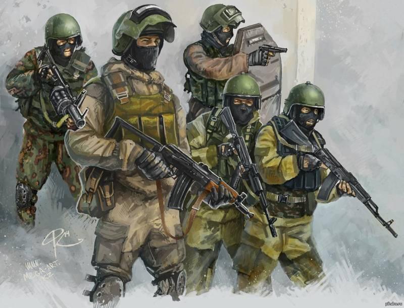спецназ мира