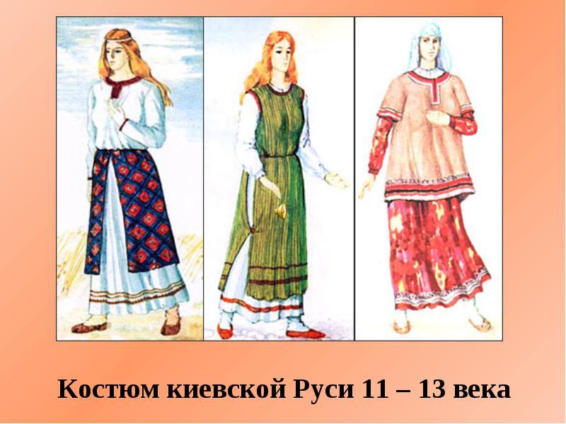 древняя одежда