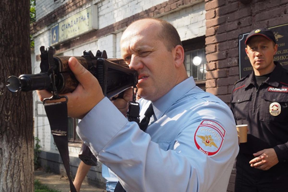вооружение полиции россии