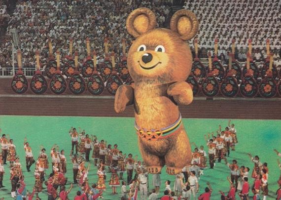 талисманом олимпиады 80 в москве был