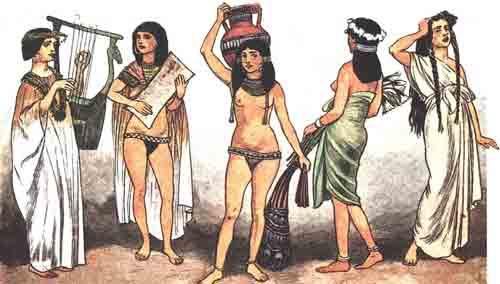 одежда пехотинцев в древнем египте