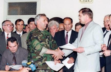 подписание хасавюртовских соглашений