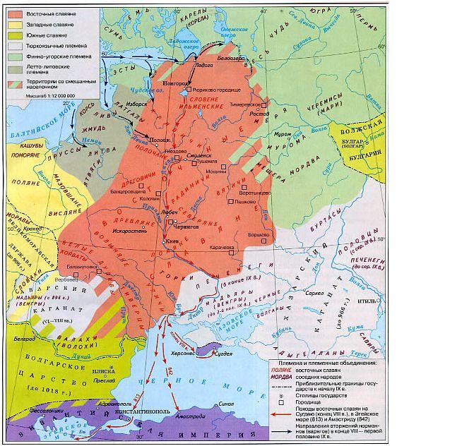 к восточнославянским народам относятся