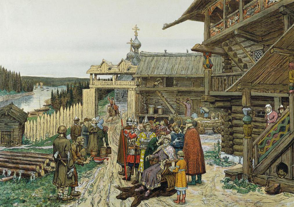 функции дружины в древней руси