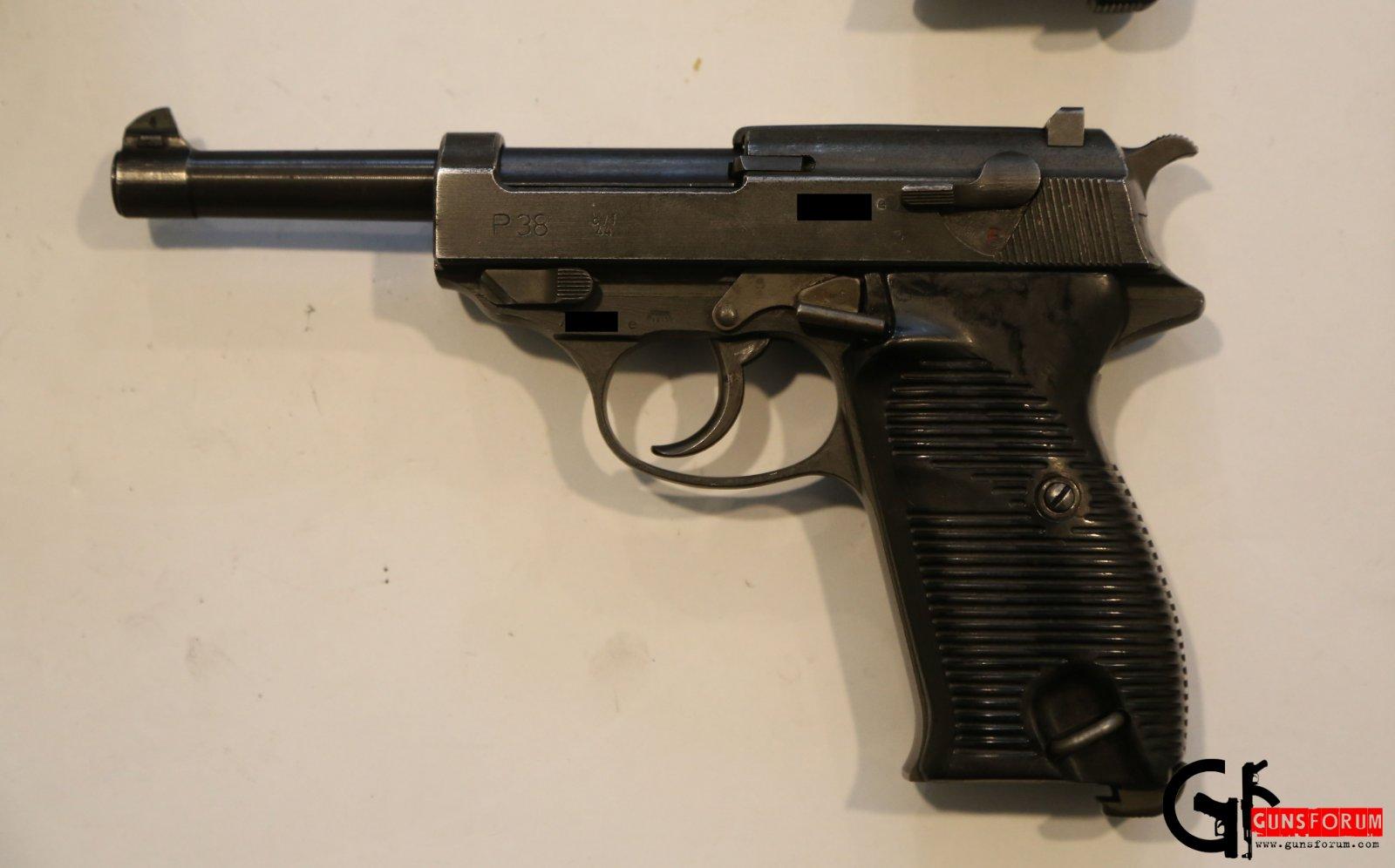 вальтер п 38 пистолет