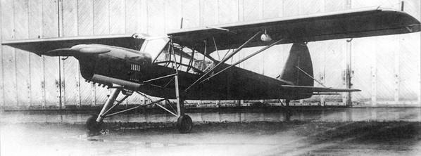 легкий самолет