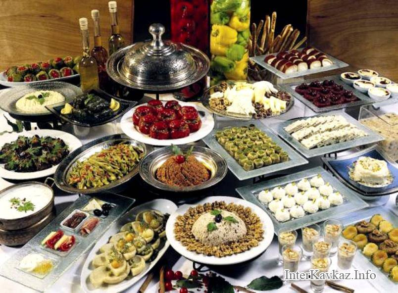 кавказские блюда рецепты
