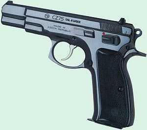пистолет cz