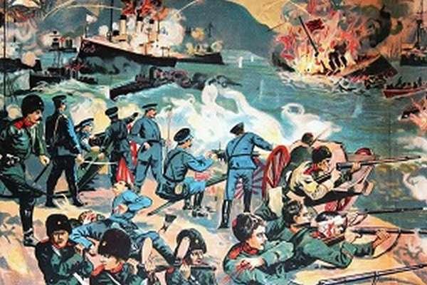 оборона порт артура 1904