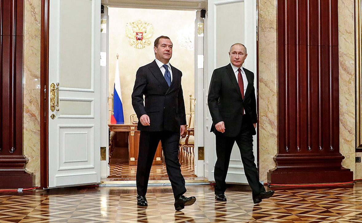 дмитрий медведев должность