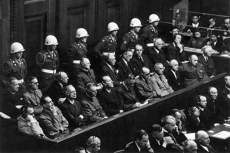 приговор нюрнбергского трибунала