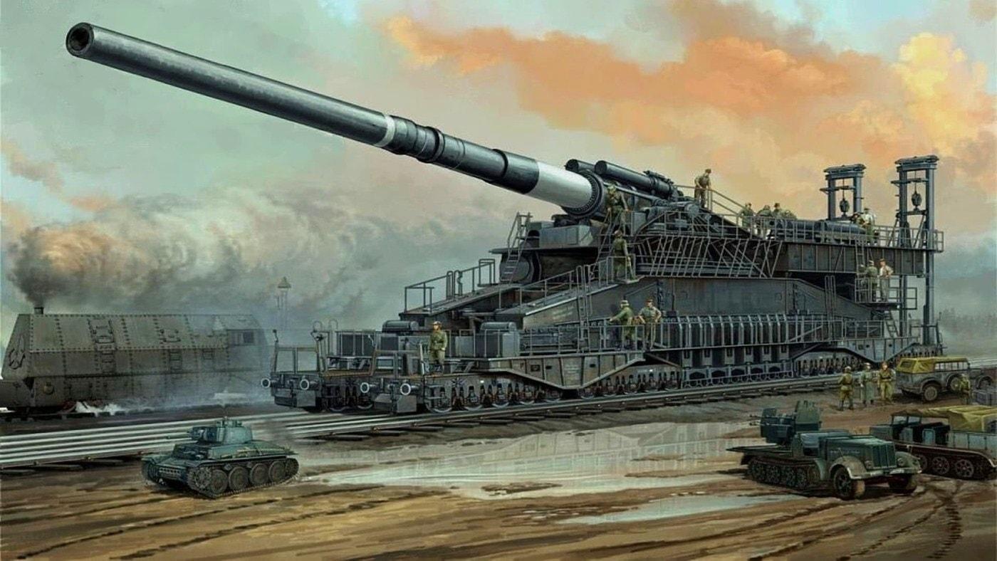 густав танк