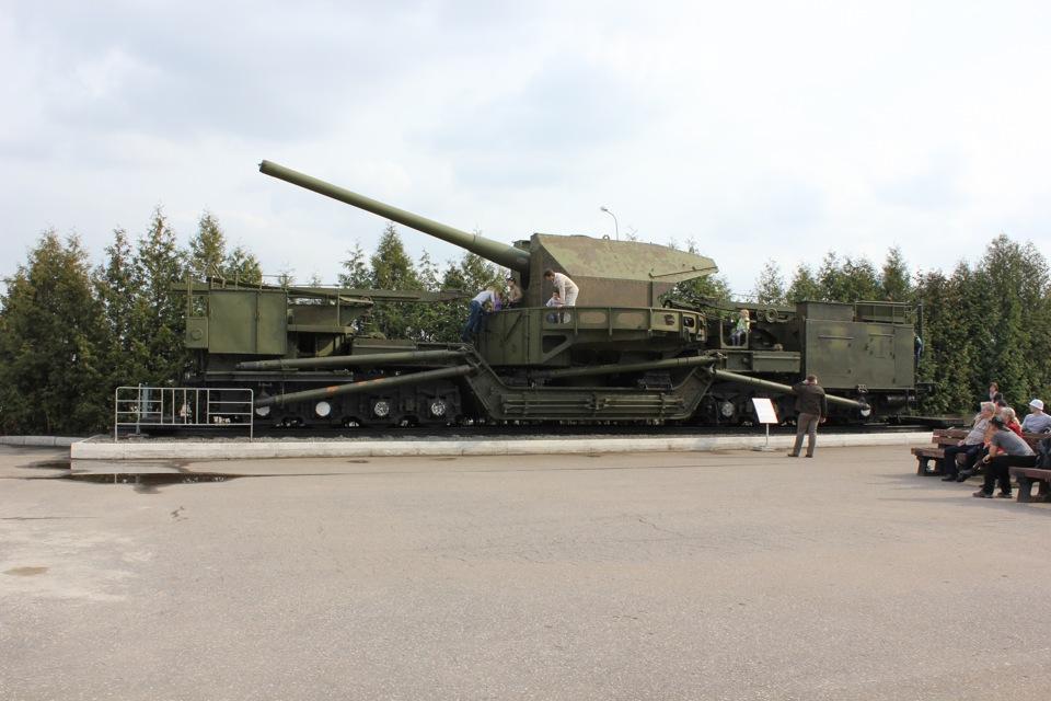 самая большая пушка второй мировой войны