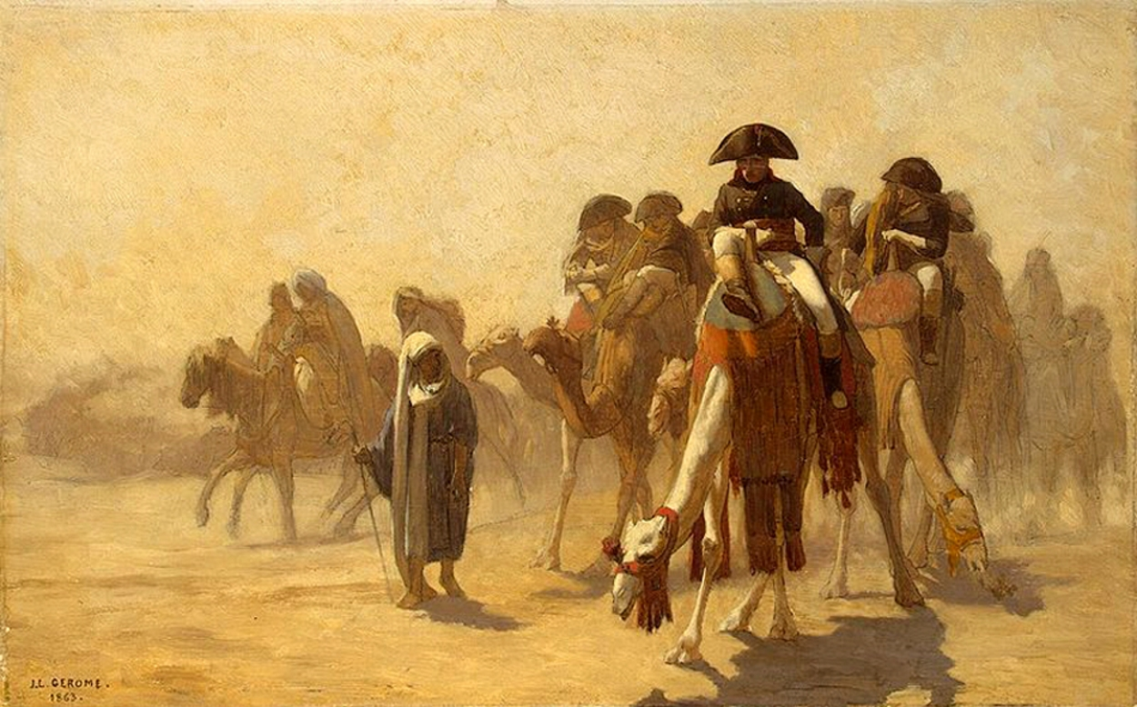 египетский поход наполеона бонапарта дата