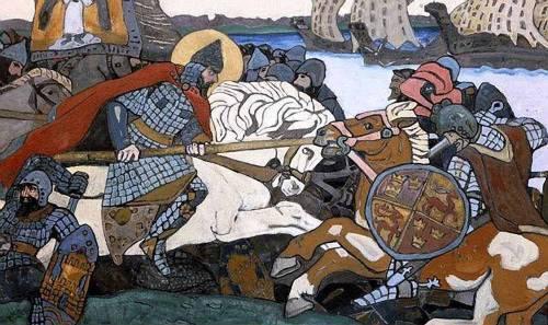 нападение крестоносцев на русь