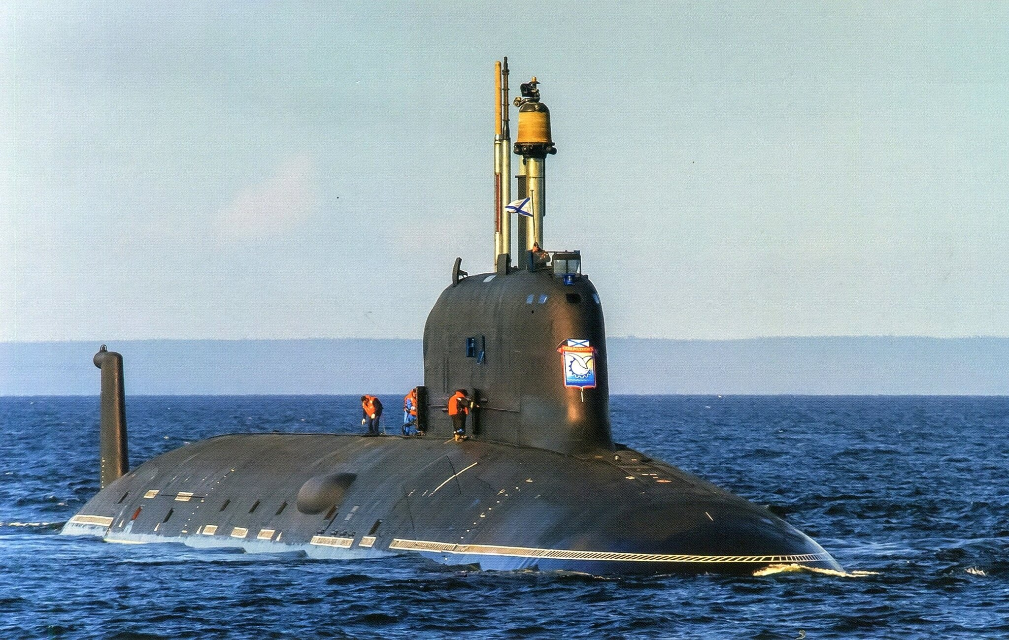 атомные подводные лодки россии