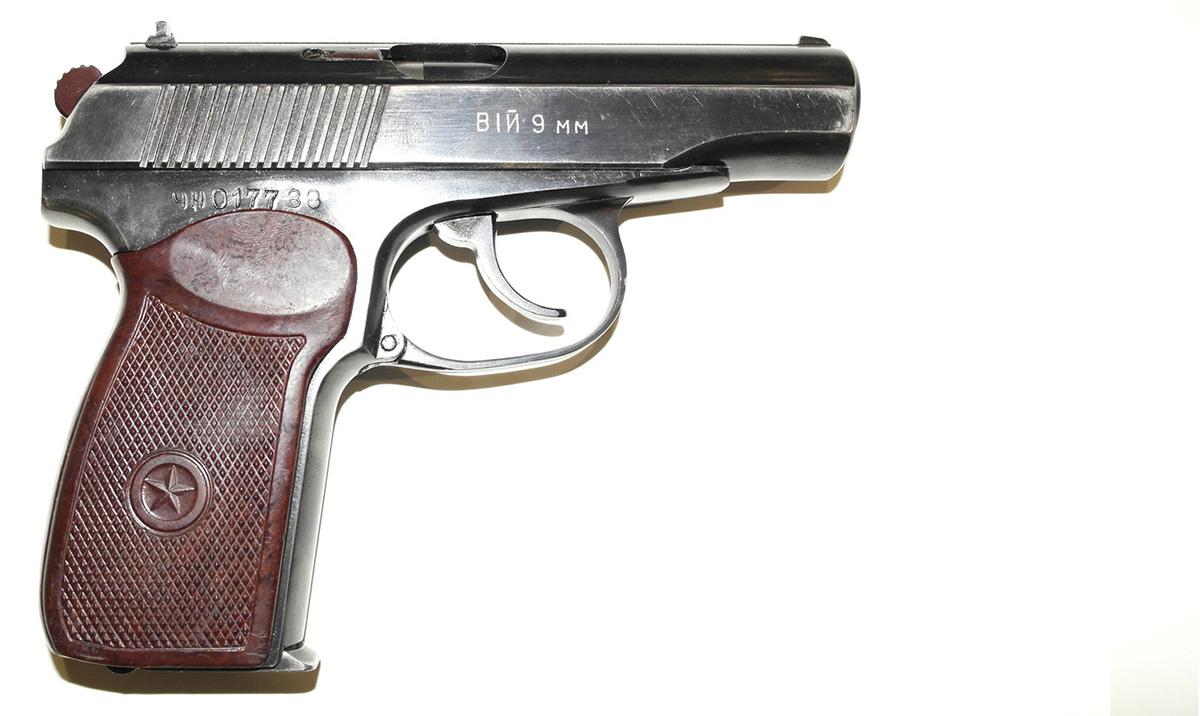 как устроен пистолет