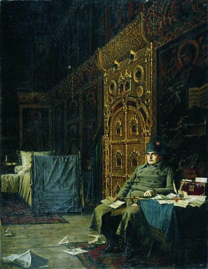 французы в москве 1812
