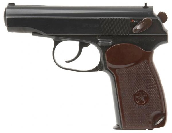 устройство пистолета