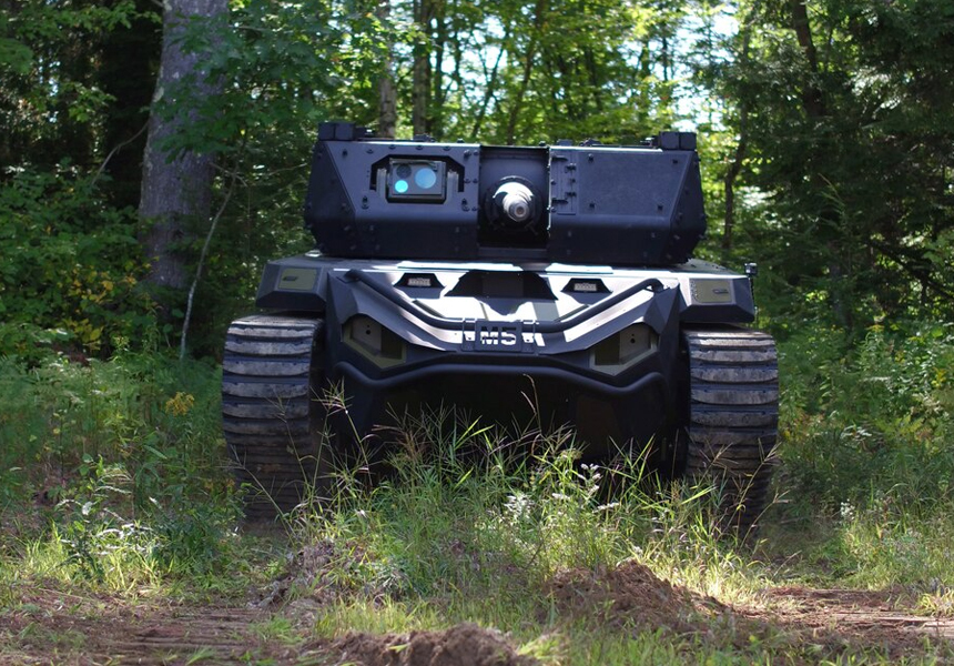 военная робототехника