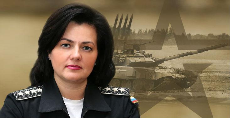 заместитель министра обороны татьяна шевцова