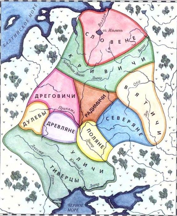 заселение славянами восточной европы