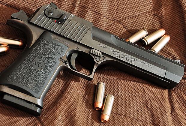 крупнокалиберный пистолет