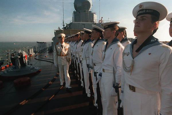 форма моряка россии