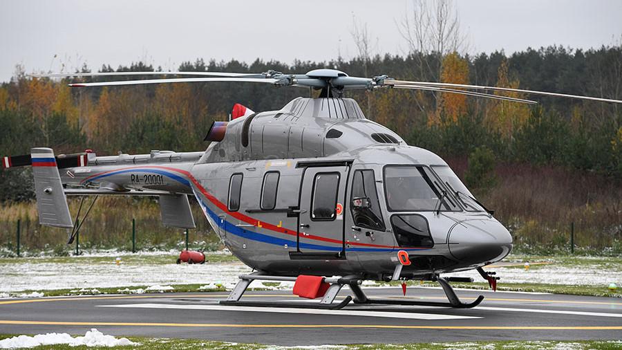 вертолет ансат фото