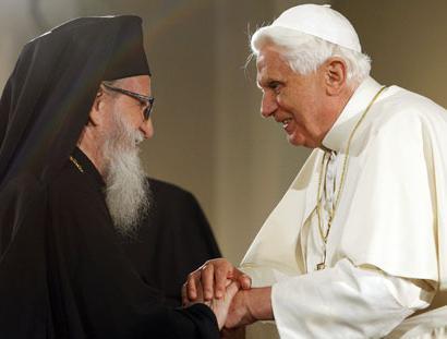 когда христианство разделилось на католичество и православие
