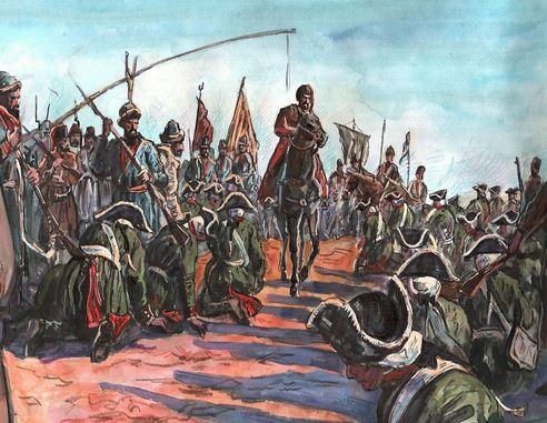 где казнили пугачева