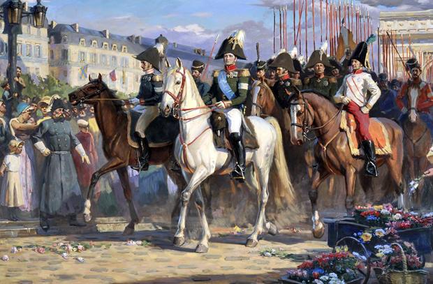 когда русские войска вошли в париж