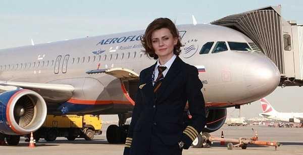 женщина летчик